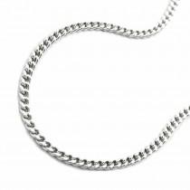 Halskette Kette, silberne Panzerkette Silber 925 42cm