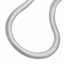 Kette, Schlange flach, 42cm, Silber 925