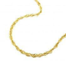 Kette, 42cm, Anker gedreht, 14Kt GOLD