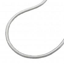 Kette, Schlange 1,2mm, 42cm, Silber 925