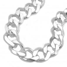 Armband, Weitpanzer, 21cm, Silber 925