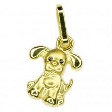 Kinderschmuck, Anhänger, Hund, 8Kt GOLD 333