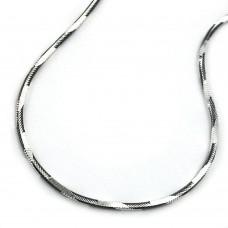 Armband, Schlange, vierkant, KB, 925