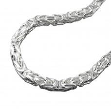 Kette, 6mm Königskette, Silber 925