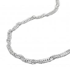 Bauchkette, Singapur, Silber 925