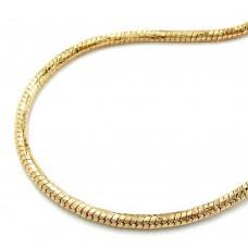 Armband, Schlangenkette, vergoldet, AMD