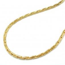 Armband, Kobrakette rund, vergoldet, AMD