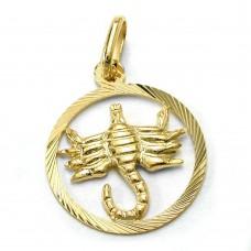 Sternzeichen, Skorpion, 9Kt GOLD