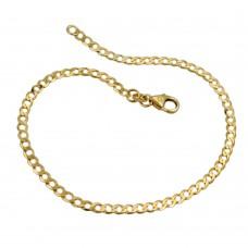 Armband, 19cm, Weitpanzer, 14Kt GOLD