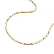 Kette, 38cm, Venezianer-Kette, 9Kt GOLD