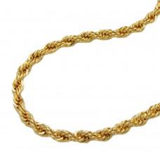 Armband, 19cm, Kordelkette, 9Kt GOLD